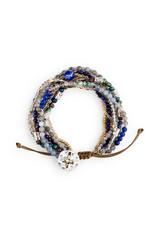 DEMDACO 1004670036 Beaded Prayer Bracelet - Indigo