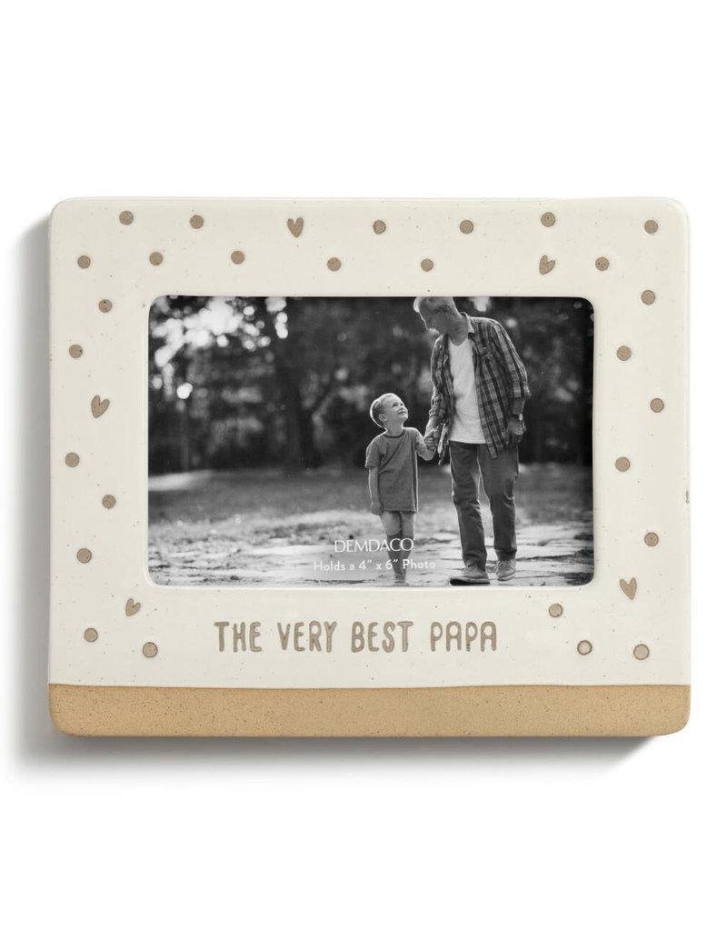 DEMDACO 5004730471The Very Best Papa Frame