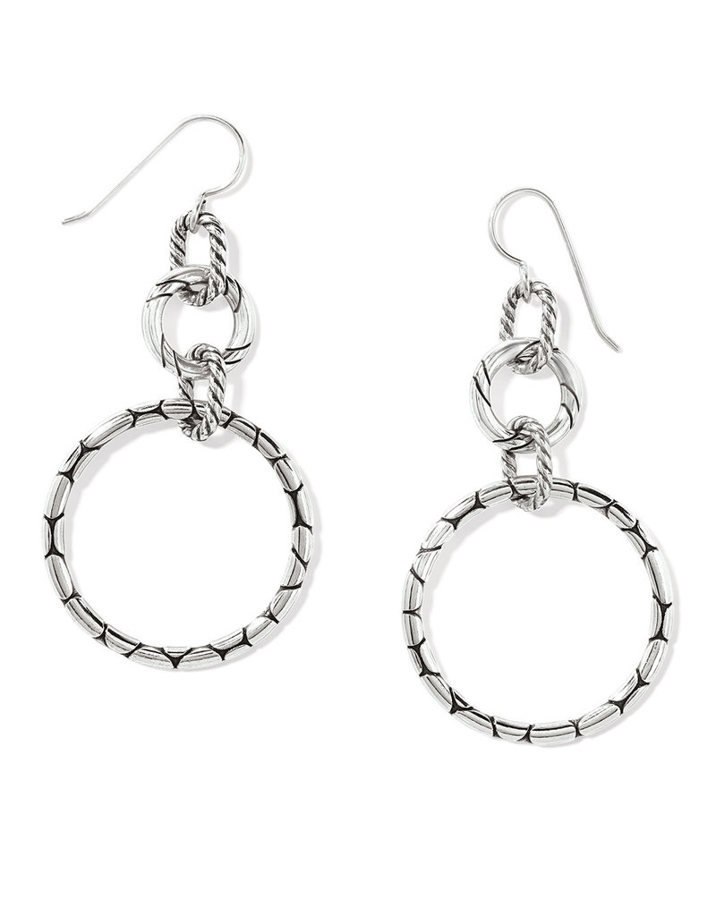 BRIGHTON JE4700 Pebble Rings French Wire Earrings