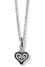 BRIGHTON JM4893 Alcazar Mystique Heart Necklace