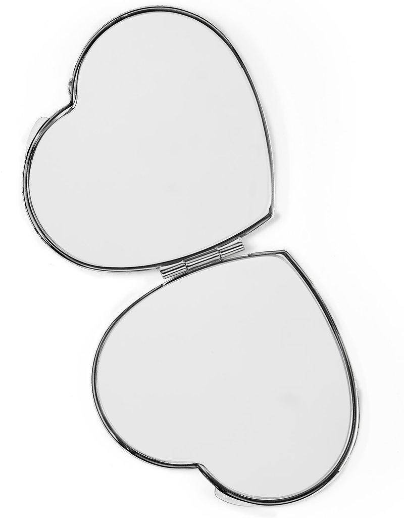BRIGHTON E5430M LOOK OF LOVE HEART COMPACT MIR