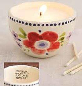 NATURAL LIFE CNDL065 Secret Message Candle|World Better