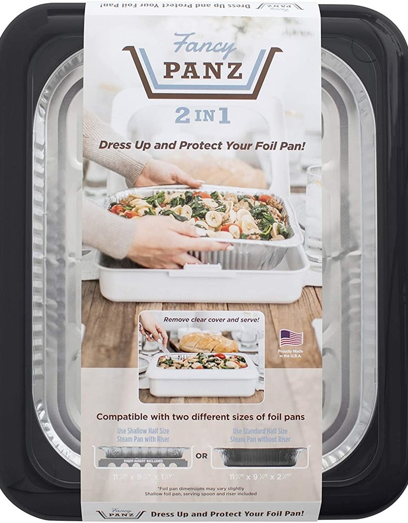 Fancy Panz - 2in1 Charcoal Grey