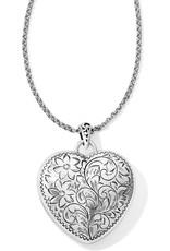 BRIGHTON JM0920 Timeless Heart Convertible Locket Necklace