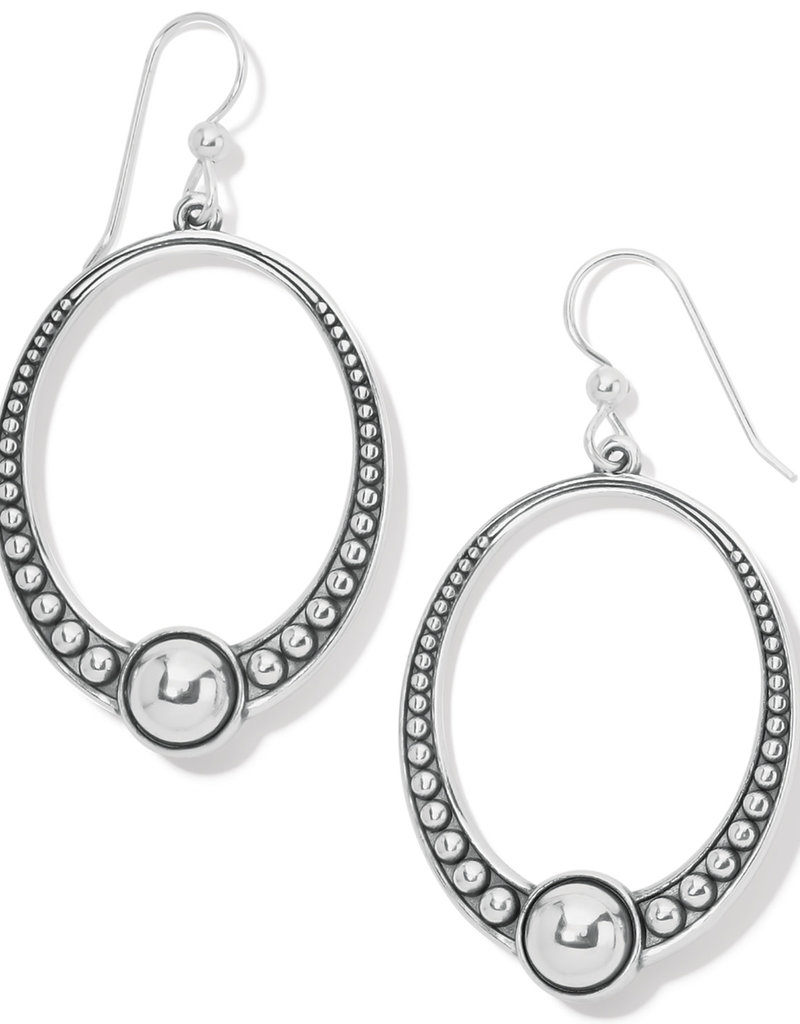 BRIGHTON JA7820 Pretty Tough Oval French Wire Earrings