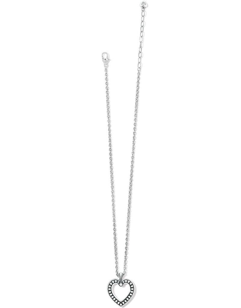 BRIGHTON JM4840 Pretty Tough Open Heart Necklace