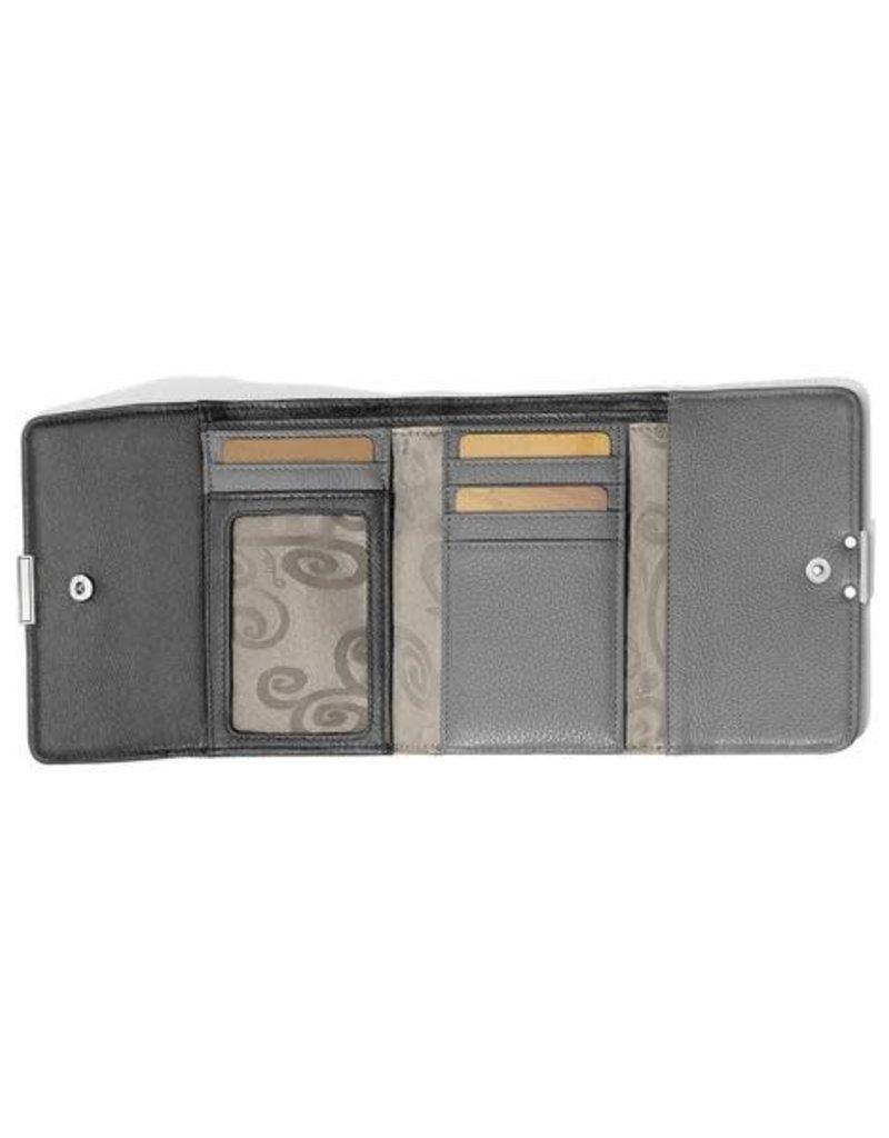 BRIGHTON T2243D Barbados Double Flap Medium Wallet