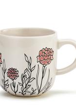 DEMDACO 1004500243 January Birth Flower Mug