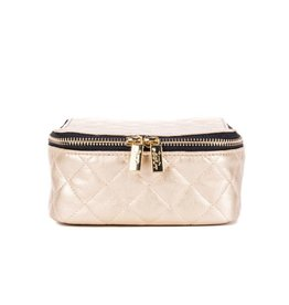 SCOUT 12855 Hidden Gem JEWELRY CASE Quilted Gold