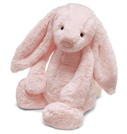 JELLYCAT BBP444P BASHFUL LIGHT PINK BUNNY W/CHIME