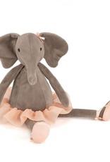 JELLYCAT DDS6E DANCING DARCEY ELEPHANT SMALL