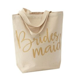 MUD PIE 4485035 BRIDESMAID TOTE