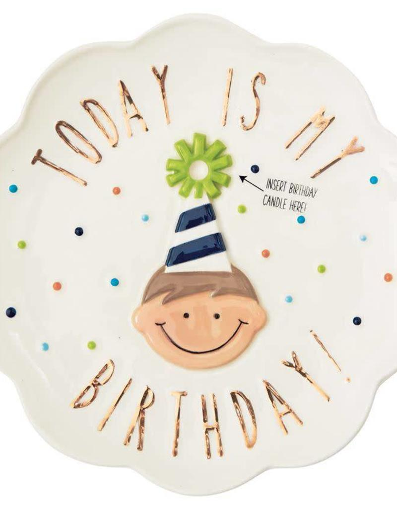 MUD PIE 2002291 BIRTHDAY BOY CANDLE PL