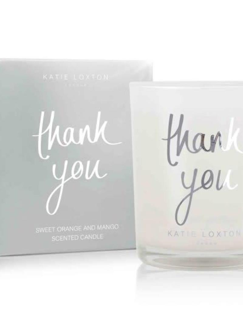 KATIE LOXTON KLC068 THANK YOU CANDLE