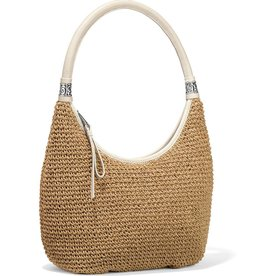 BRIGHTON H72992 SHELBY STRAW SHOULDERBAG Available in store! Please contact 516-766-3100!