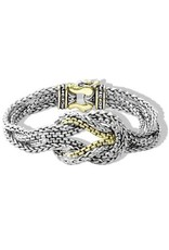 JOHN MEDEIROS B3526-A000 ANVIL BRAIDED BRACELET