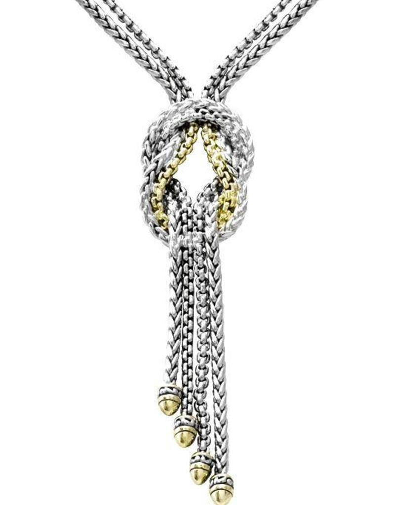 JOHN MEDEIROS N3527-A000 ANVIL KNOT NECKLACE