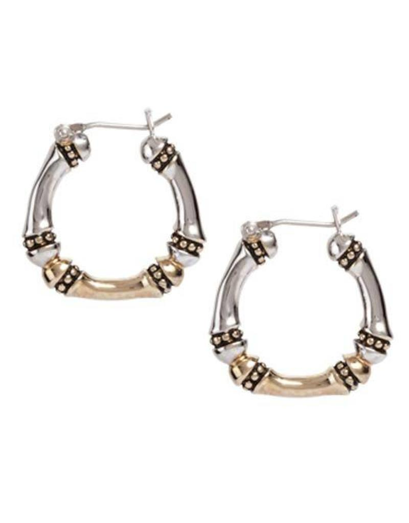 JOHN MEDEIROS G4094-A000 CANIAS MEDIUM HOOP EARRINGS