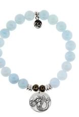 T JAZELLE TJ10492 BLUE AQUAMARINE-MERMAID