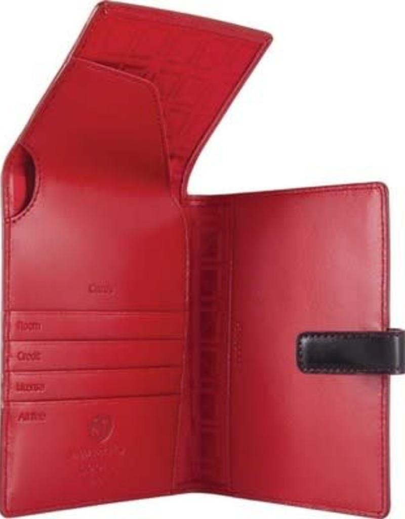 LODIS AUDREY UNDER LOCK & KEY RFID PASSPORT WALLET WITH TICKET FLAP