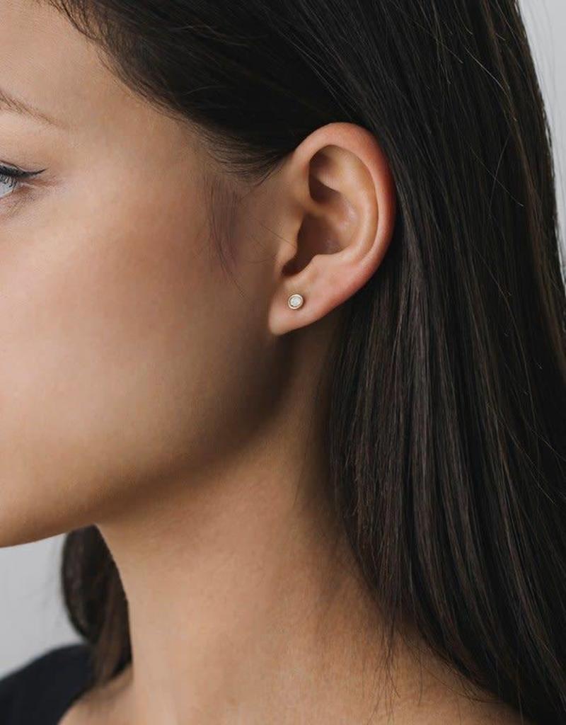 LOVERS TEMPO 1HH13001-CLR SWAROVSKI MINI POST EARRINGS - CLEAR