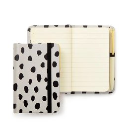 KATE SPADE 175255 Mini Notebook With Pen, Flamingo Dot