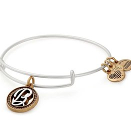 ALEX AND ANI A18EBINT02TTRS INITIAL B II EWB, TWO TONE, RS