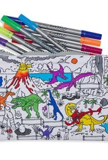 COLOR&LEARN DINOSAUR PENCIL CASE