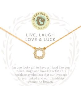 "Spartina 449 501873 NECKLACE 18"" LUCK/QUATR"