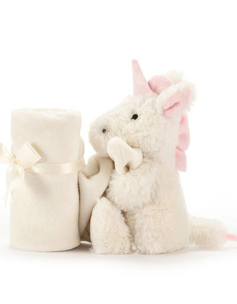 JELLYCAT SOB4UN Bashful Unicorn Soother
