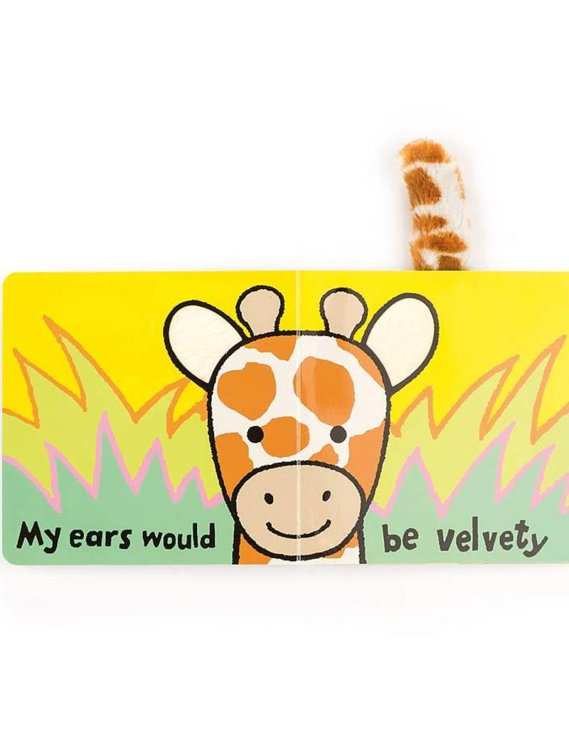 JELLYCAT BB444GI If I were a Giraffe Book