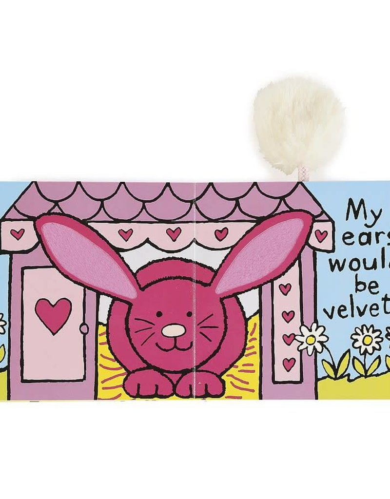 JELLYCAT BB444R If I Were a Rabbit Book (Tulip)