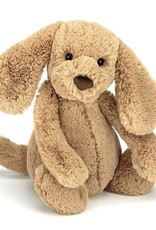 JELLYCAT BAS3TPUS Bashful Toffee Puppy Medium