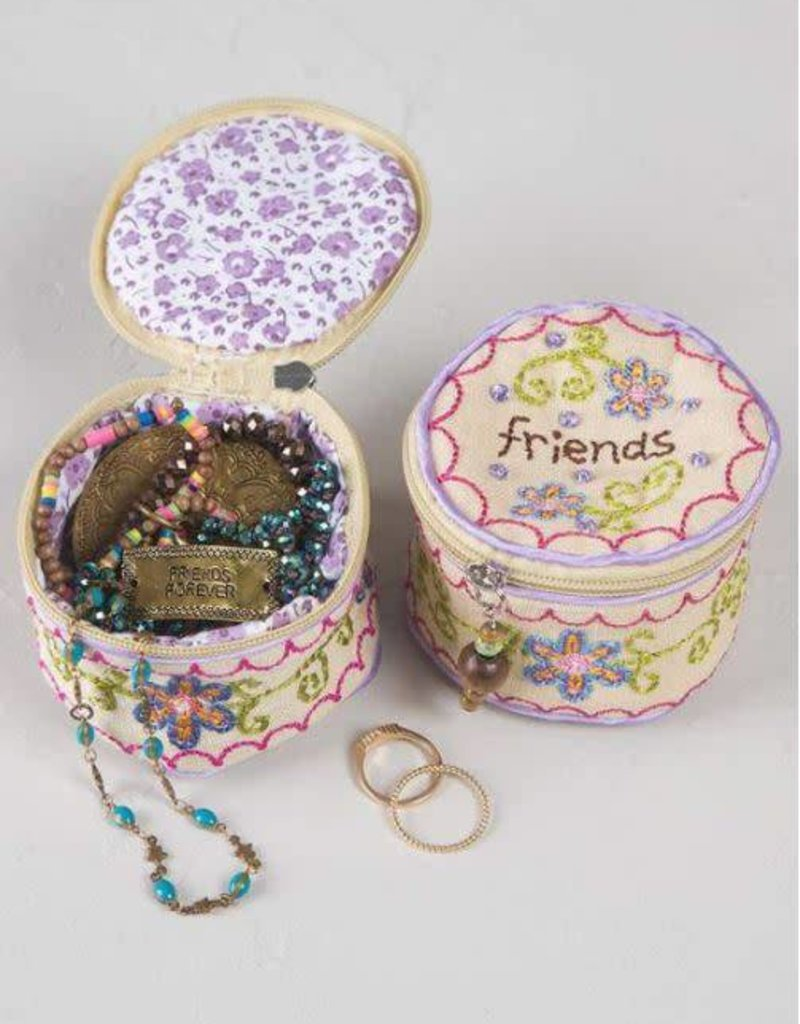 NATURAL LIFE BAG008 JEWELRY ROUND FRIENDS