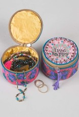 NATURAL LIFE BAG211 JEWELRY ROUNDS LIVE HAPPY