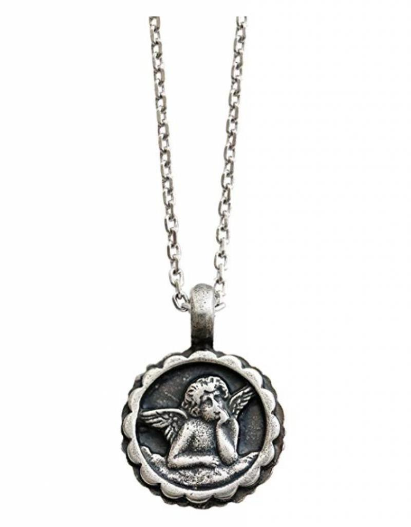 MARIANA N-5212-001001 SP GUARDIAN ANGEL PENDANT ON A CLEAR DAY