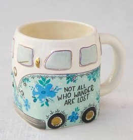NATURAL LIFE MUG286 FOLK MUG VAN NOT ALL WANDER