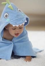 79599 BATH WRAP BLUE SEA
