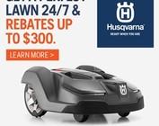 Automower Rebates