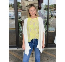 Yellow/Beige Abstract Sleeveless Cami