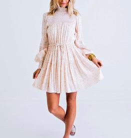 Karlie / Floral Ditzy Smock Boho Dress