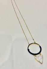 JM Jewelry Geometric Necklace