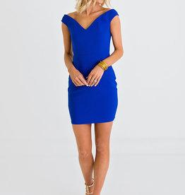 Karlie 003 royal bustier dress