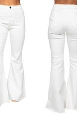 MOONSHINE WHITE- HIGHWAIST FLARE