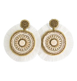 Ivory Statement Earring