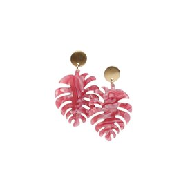 Palm Spring Earring- Pink