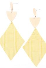 Yellow Earring