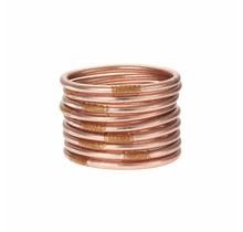 Rose Gold All Weather Bracelet Set 9-M