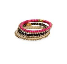 Malia Silk Wrap Bangle- Midi