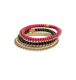 BuDhaGirl Malia Silk Wrap Bangle- Midi